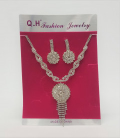 Jewelry sets for Women Silver gold color wedding gifts necklace earrings Bracelet ring set Ethiopia jewellery