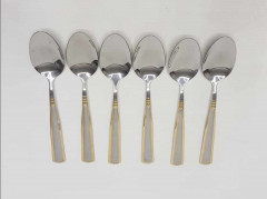 Stainless Steel Spoon Table Accessories Set of 6