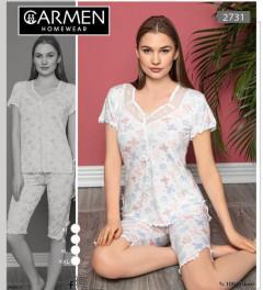 Ladies Turkey Nightwear Shorty Set