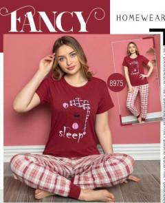 Ladies Turkey 2 Pcs Pyjama Set